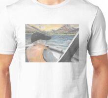 Chalk Pastel 8x10 Brother Fishing Unisex T-Shirt