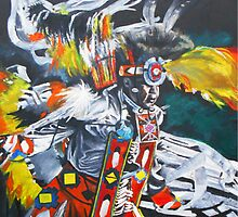 """Sioux Dancer"" by Kevin J Cooper"
