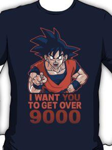 Get Over 9000 T-Shirt