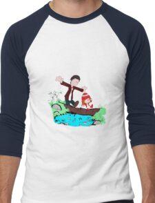 Amy & Doctor Men's Baseball ¾ T-Shirt