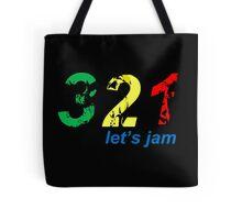 321...let's jam Tote Bag