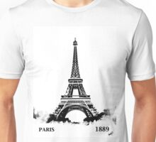 Eiffel Tower Paris France 1889 Unisex T-Shirt