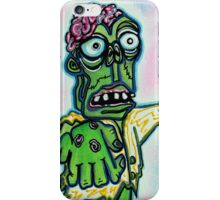 My Pet Zombie #4 - Here Boy iPhone Case/Skin