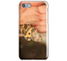 Butterfly on a Hand iPhone Case/Skin