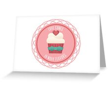 Love Comes In Many Flavors Greeting Card