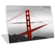Golden Gate Bridge (Vectorillustration) Laptop Skin