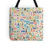 Icons of Travel Tote Bag