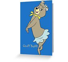 Cindy Bear Yogi Bear Greeting Card