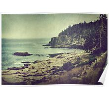 To the Sea: Acadia National Park Poster