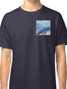 Manatee 5x5 Colored Pencil Drawing Classic T-Shirt