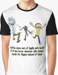 Rick and Morty – Looks Like an '80s Knockoff Graphic T-Shirt