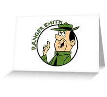 Ranger Smith Yogi Bear Greeting Card