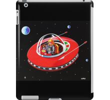 RED FLYING SAUCER iPad Case/Skin