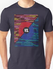 Red Vs. Blue T-Shirt