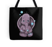 Pink Elephant bubble Tote Bag