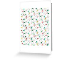 Summer outline Greeting Card