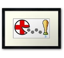 England World Cup 2014 Framed Print