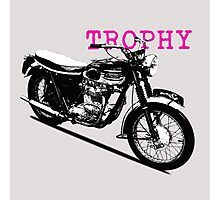 The Vintage Trophy Motorcycle Photographic Print
