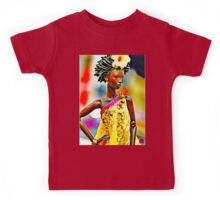 SALIHAH FAIZA:AFRICAN FASHION WEEK Kids Tee