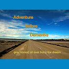 Adventure before dementia grey nomad. by elphonline