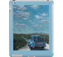 Summertime Blue iPad Case/Skin