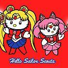 Hello Sailor Scouts by jellysoupstudio