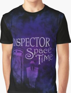 Inspector Spacetime Graphic T-Shirt