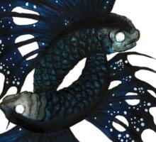 Mutated Twin Flying Fish Sticker