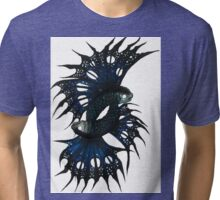 Mutated Twin Flying Fish Tri-blend T-Shirt