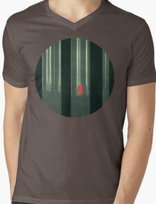 these woods (colour) Mens V-Neck T-Shirt