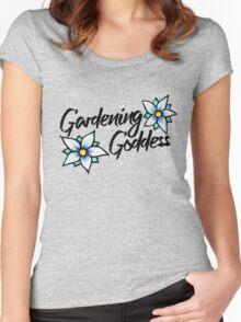 Gardening Goddess Women's Fitted Scoop T-Shirt