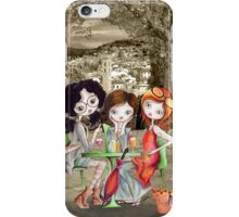Girlfriends in Tuscany... iPhone Case/Skin
