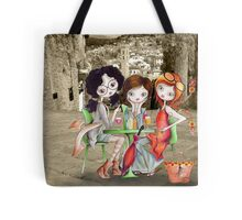 Girlfriends in Tuscany... Tote Bag