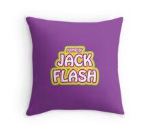 Jumpin' Jack Flash Throw Pillow