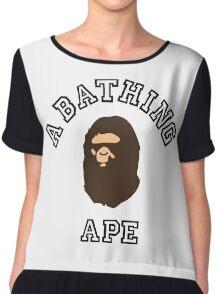 A Bathing Ape Chiffon Top