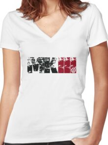 MKIII Women's Fitted V-Neck T-Shirt