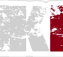 MKIII (white) Sticker