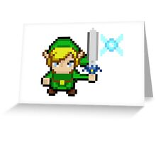 Pixel Link and Navi Greeting Card