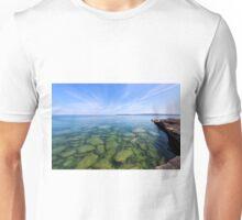 Serenity in Lake Superior Unisex T-Shirt