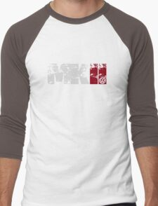 MKII (white) Men's Baseball ¾ T-Shirt