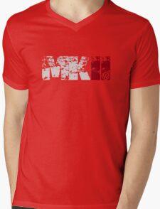 MKII (white) Mens V-Neck T-Shirt