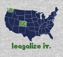 Legalize It. by RastaClothing