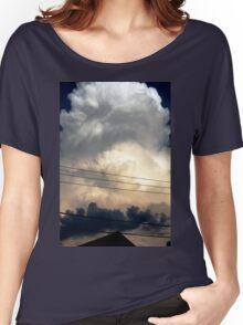 sunset storm cloud Women's Relaxed Fit T-Shirt