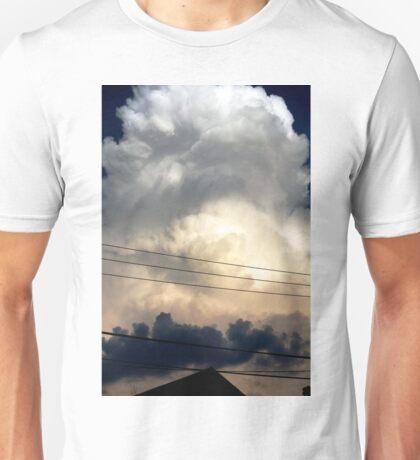 sunset storm cloud Unisex T-Shirt