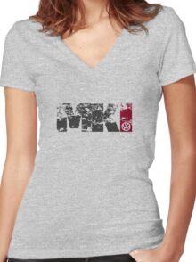 MKI Women's Fitted V-Neck T-Shirt