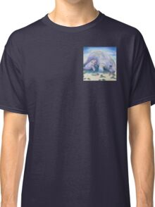 Manatee Mom and Baby 5x5 Colored Pencil Classic T-Shirt