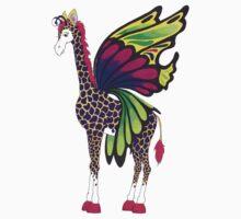 giraffe fly One Piece - Short Sleeve