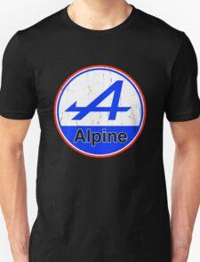 Alpine Cutout French Color Graphic Unisex T-Shirt