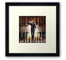 justin moore the beaten Framed Print