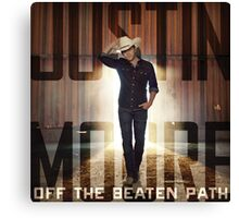 justin moore the beaten Canvas Print